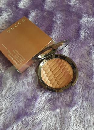 Бронзер becca sunset waves