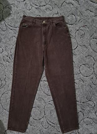 Шикарные джинсы mom, момы, слоучи высокая посадка