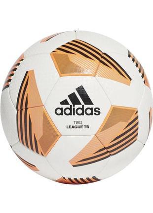 М'яч футбольний adidas tiro league tb №5 fs0374 білий