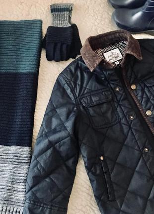 Набор - шарф 🧣 и рукавички 🧤🧤 англия