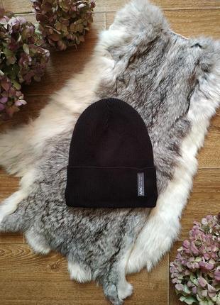 Arctic зимняя шапка в рубчик на флисе р.54-58