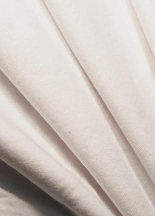Белая базовая футболка oversize8 фото