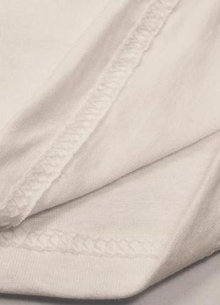 Белая базовая футболка oversize9 фото