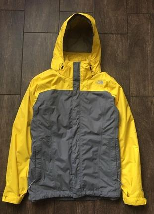 Шикарная утеплённая мембранная куртка 3 в 1 the north face