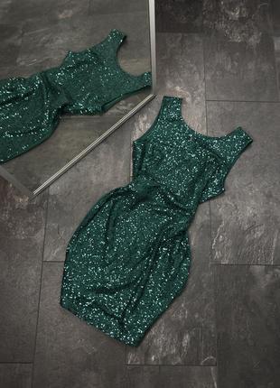 Платье в пайетках new look