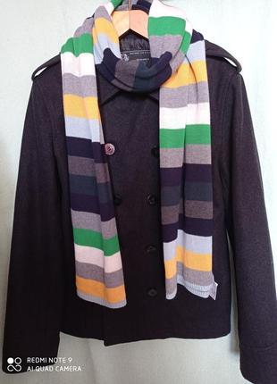 Практичный всегда модный двубортной пиджак, жакет, пальто полупальто cedarwood state