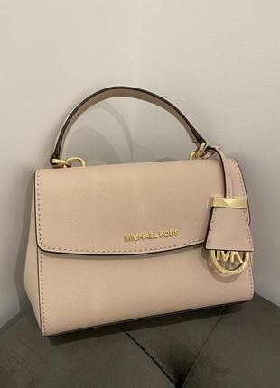 Женская сумка оригинал michael michael kors ava extra-small leather crossbody