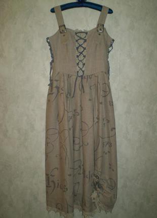 Платье льняное шикарное alphorn ,deutschland1