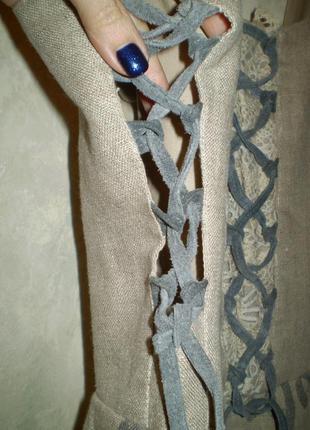 Платье льняное шикарное alphorn ,deutschland4