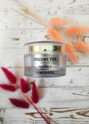 Крем с пептидами medi peel peptide 9 volume tox cream 50 мл