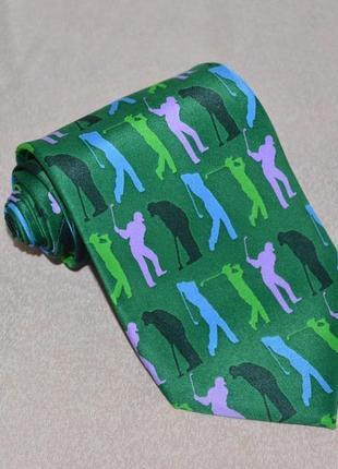 Брендовый галстук tin can man гольф