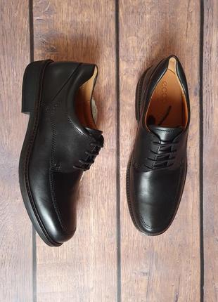 Мужские кожаные туфли ecco holton / оригинал
