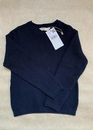 Стильный хлопковый свитер для мальчика