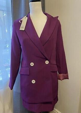 Новый женский костюм юбка+ пиджак s, m
