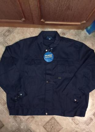 Рабочая куртка click heavy weights батальная