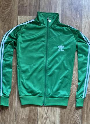 Adidas - кофта на молнии олимпийка размер s