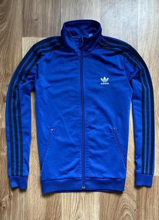 Adidas - кофта на молнии олимпийка размер xs