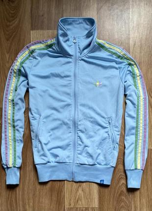 Adidas - кофта на молнии олимпийка размер s-m