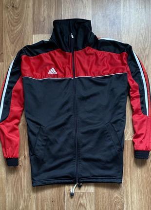 Adidas - кофта на молнии олимпийка мужская размер l-xl