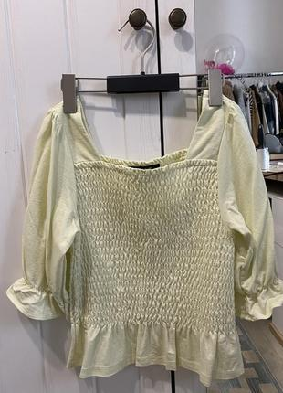 Блуза топ нежного цвета reserved