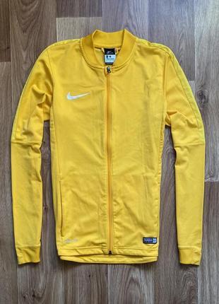 Nike - кофта на молнии олимпийка размер s-m