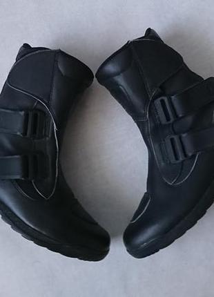 Ботинки байкерские мотоботы кожаные sidi оригинал размер 40