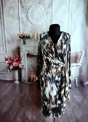Мега стильное платье миди масло