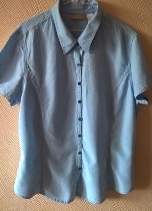 Рубашка из  лиоцела