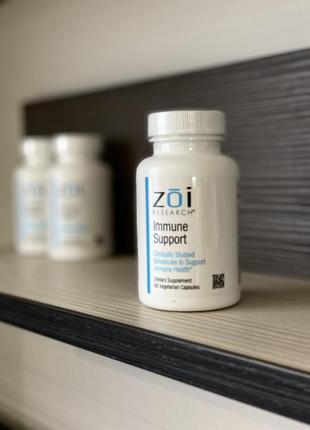 Цена iherb! укрепление иммунитета с пробиотиками и раст. компонентами zoi research, 60 кап