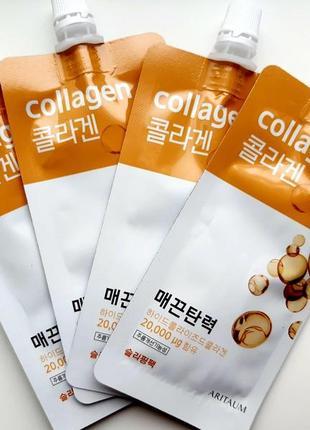 Ночная коллагеновая маска aritaum fresh power essence pouch pack collagen