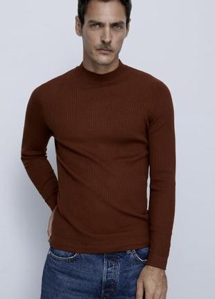 Новый мужской гольф свитер zara