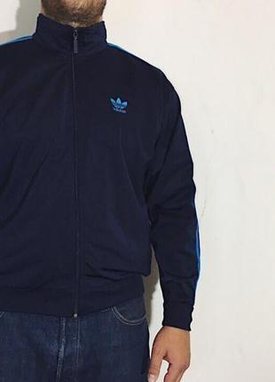 Мужская кофта (олимпийка,мастерка) adidas ( адидас лрр идеал оригинал сине-бирюзовая)