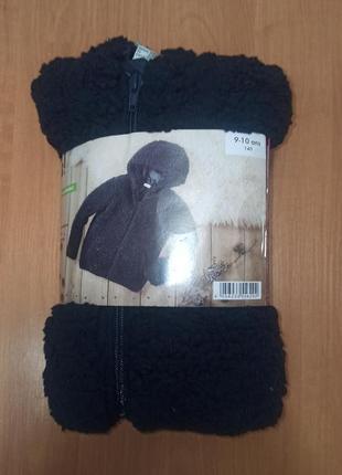 Курточка кофта толстовка пушистик меховушка тёплая германия