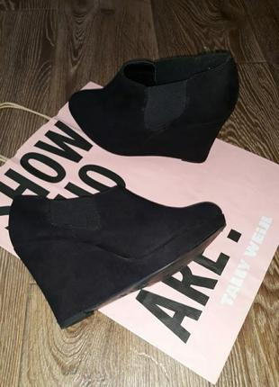 Туфли замшевые 40 размер