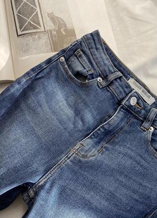 Плотные качественные джинсы скинны высокая посадка базовые джинсы