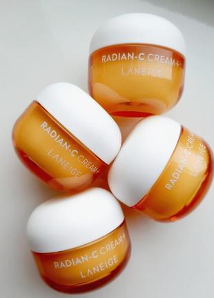 Laneige radian-c cream витаминный крем для глубокого увлажнения  10мл