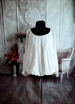 Мега стильная блузка шифоновая
