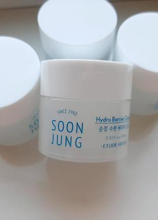 Etude house soon jung hydro barrier cream pouch интенсивный защитный увлажняющий крем