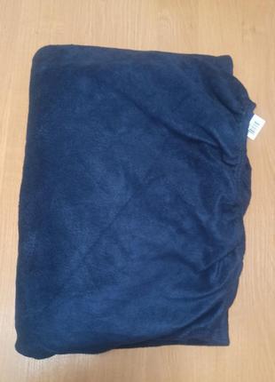 Простыни на резинке теплая флисовая зимняя 90-100х200 наматрасник meradiso