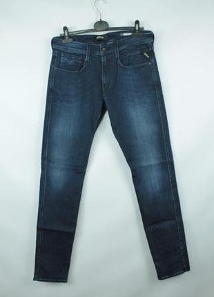Стильные оригинальные джинсы replay anbass slim jeans