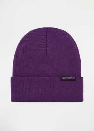 Фиолетовая шапка gard