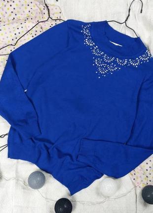 Снижена цена!!! свитер с декором
