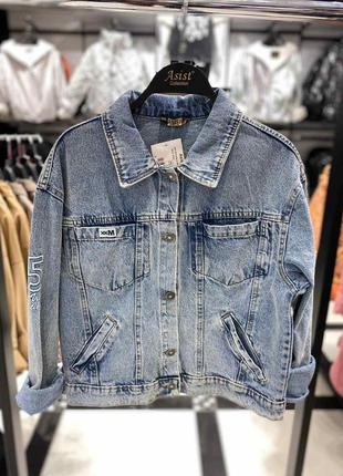 Джинсовий піджак рубашка новинка 2021