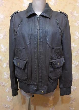 Куртка 100%кожа , качественная добротная кожа , натуральный подклад