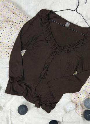 Блуза кофточка лонслив tu