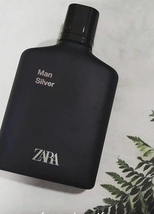 Zara man silver духи парфюм