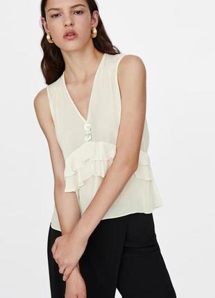 Красивая блуза топ zara