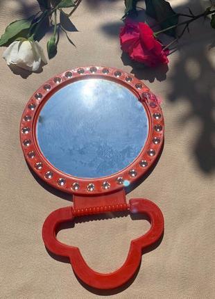 Дзеркало, зеркало настільне, круглое зеркало.
