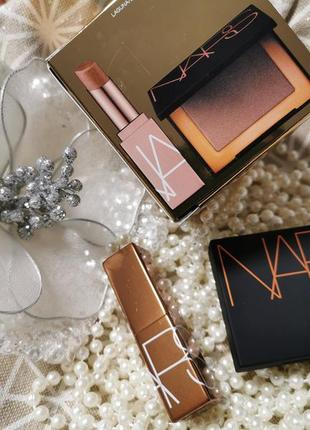 Nars mini laguna lip and bronzer duo набор бальзам и бронзер