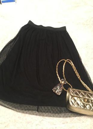 Суперстильная юбка миди